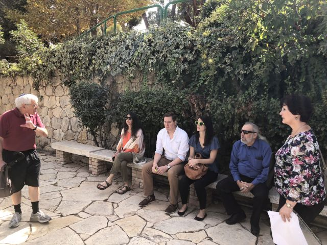 181025 Mount Herzl with Steven and Dorit from Fallen Soldiers